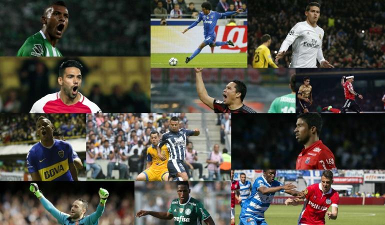 Encuesta futbolista colombiano: ¿Cuál fue el futbolista colombiano más destacado durante el 2016?