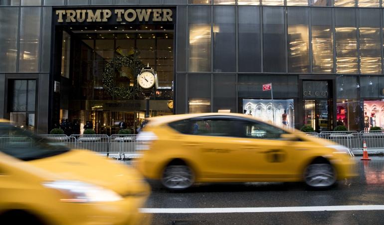 Aparente amaneza de bomba en la torre trump: Desalojan la Torre Trump por un paquete sospechoso