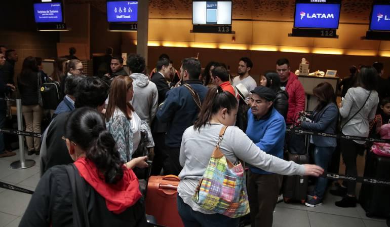 Viajeros Fin de Año: Una movilización de 800.000 viajeros espera las autoridades aeronáuticas este fin de año