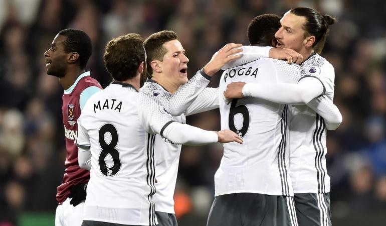 West Ham 0-2 Manchester United: El United vence al West Ham y continúa su buena racha en Premier League