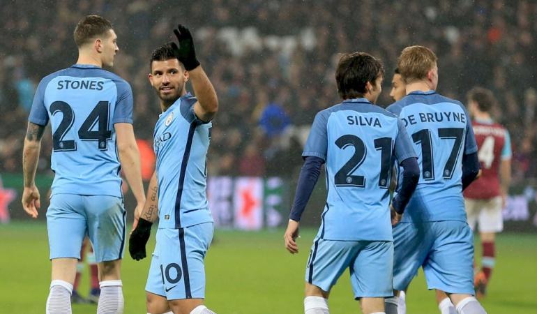 West Ham 0 Manchester City 5: Manchester City golea sin piedad al West Ham y avanza de ronda en la FA Cup