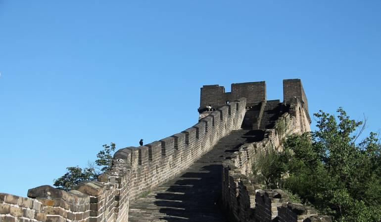 Muralla China vista desde el aire: [Video] La impresionante vista desde el aire de la Muralla China