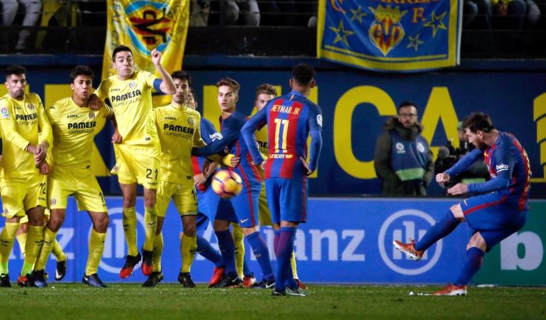 Villarreal 1-1 Barcelona: Messi rescata un punto para el Barcelona, que se sigue alejando del título de Liga