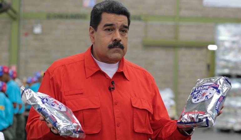 Maduro anuncia instalación de casas de cambio en la frontera con Colombia