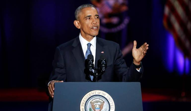 Transición Obama Trump: Obama tendió puentes para hacer menos traumática la transición: medios en EE.UU