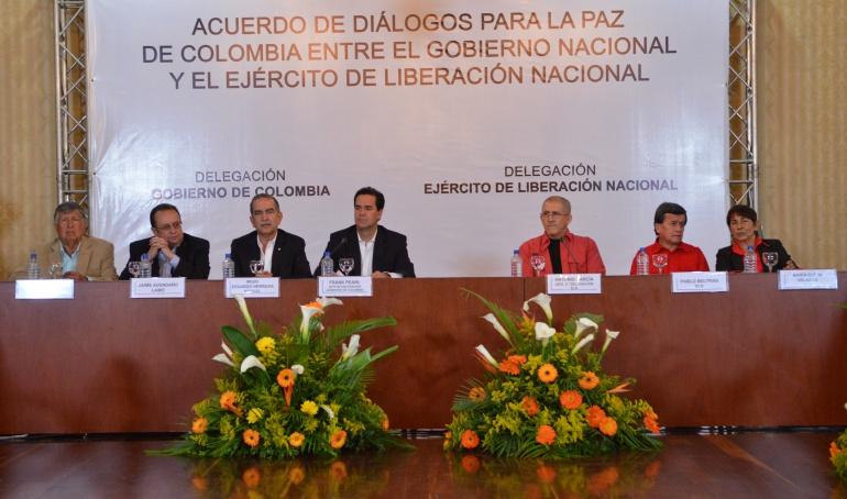 """Proceso de paz con el Eln: Con avances """"fructíferos"""" terminó segunda reunión del Gobierno y ELN"""