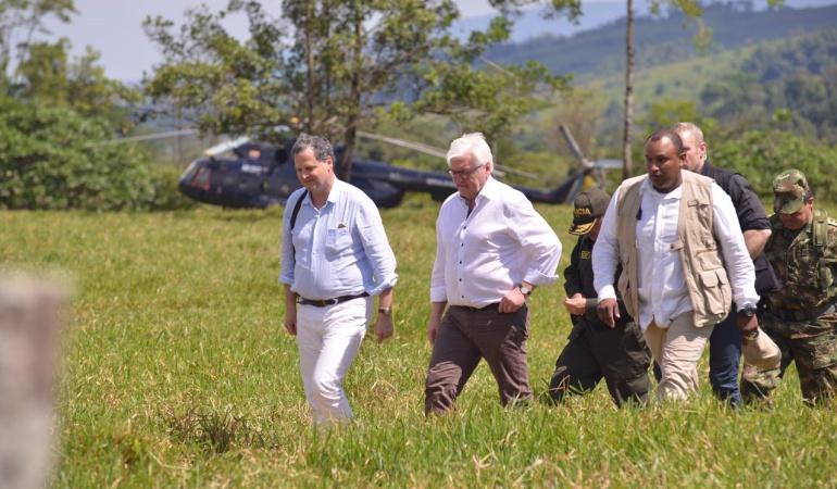 En zonas de ubicación de las Farc se dará la prueba de fuego del proceso de paz: Alemania