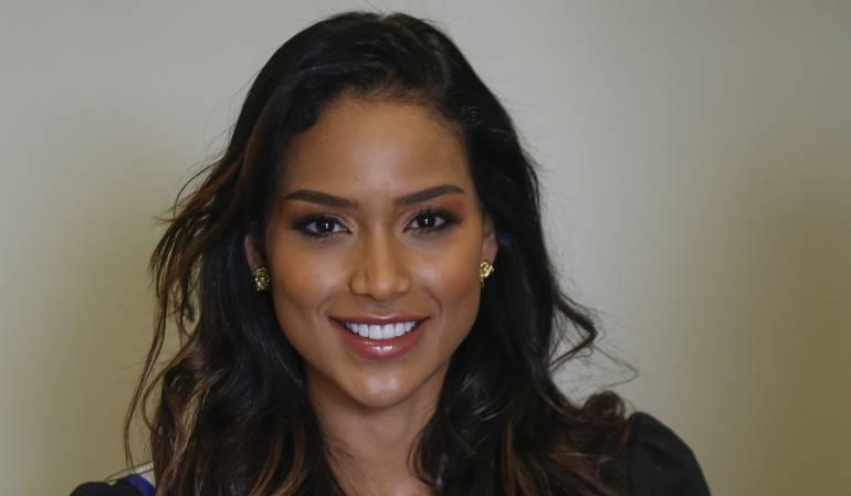 Miss Universo: Andrea Tovar se dirige a Filipinas: [Videos] ¡Todo listo! Andrea Tovar va rumbo a Filipinas