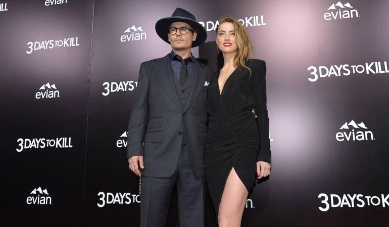 Esposa de Johnny Depp: Johnny Depp y Amber Heard, oficialmente divorciados