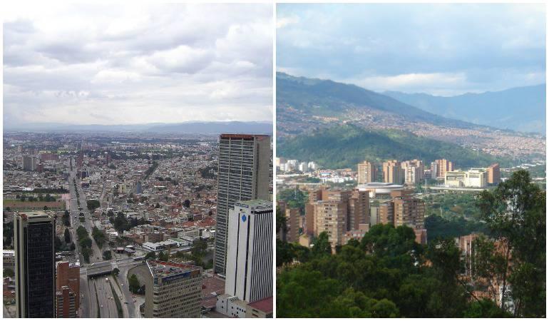 Bogota vs medellin