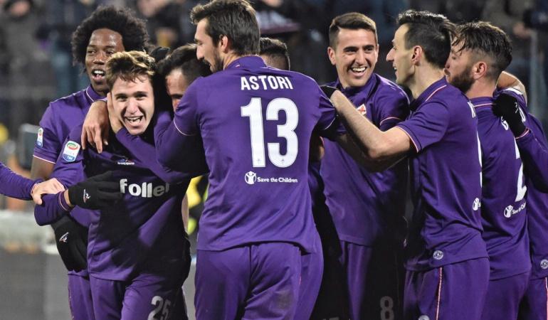 Fiorentina 2 Juventus 1: La Fiorentina de Sánchez se quedó con el duelo de colombianos frente a la Juventus