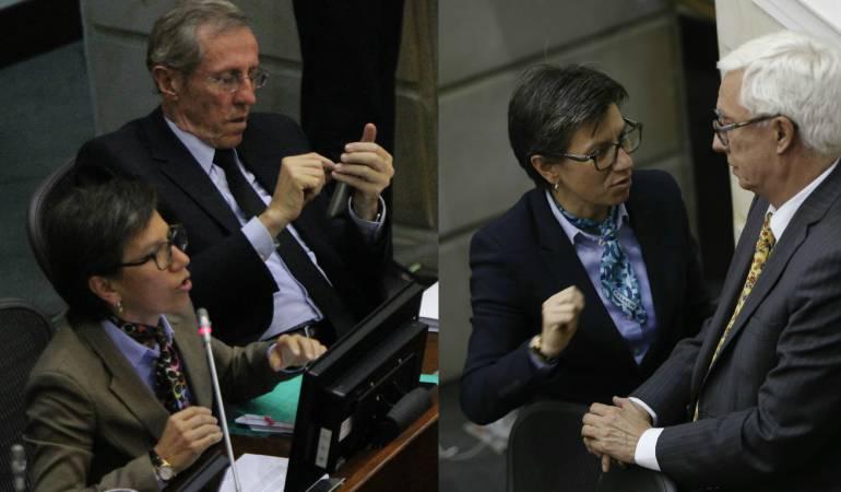 Senadores Navarro y Robledo respaldarán una coalición contra la corrupción