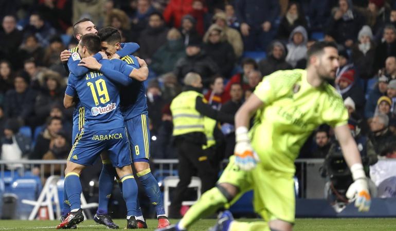 Real Madrid 1-2 Celta de Vigo: Celta sorprende al Real Madrid y lo vence en el Santiago Bernabéu