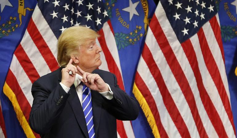 Trump seguirá titeando en su gobierno.: Trump dice que seguirá tuiteando cuando sea presidente