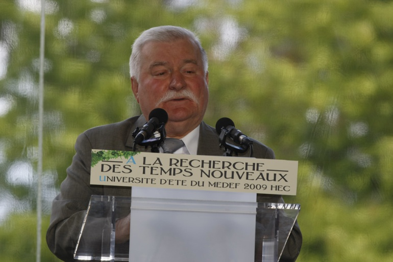 "Lech Walesa, ""el buen amigo de Juan Pablo ll"""