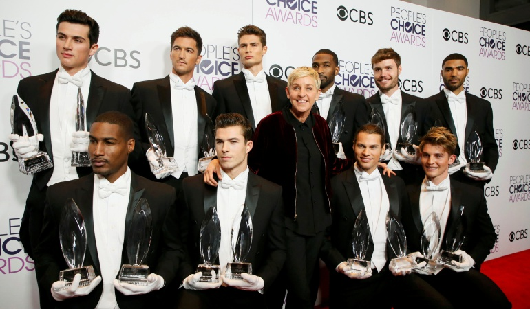 Ellen DeGeneres marca récord en los People's Choice Awards