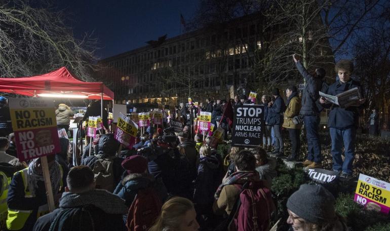RUMP INVESTIDURA: Más de 200 detenidos en las protestas antiTrump en Washington