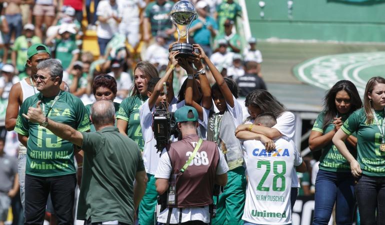 Chapecoense Palmeiras: Chapecoense inicia su renacer con empate 2-2 ante el Palmeiras