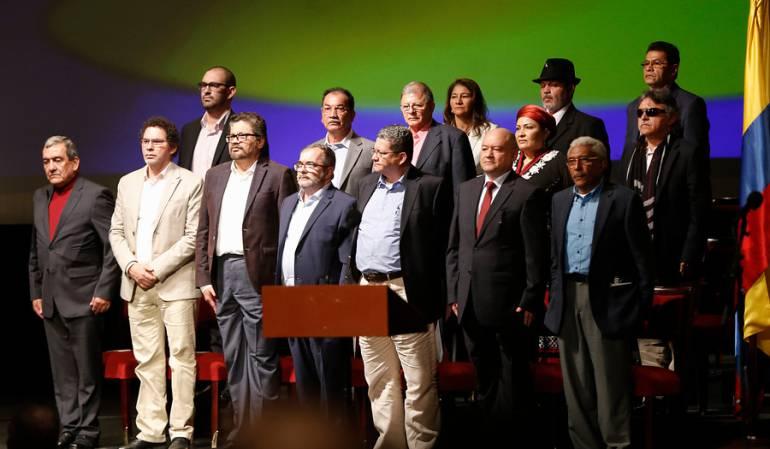 Partido político de las Farc: A finales de mayo las Farc se convertirán en partido político