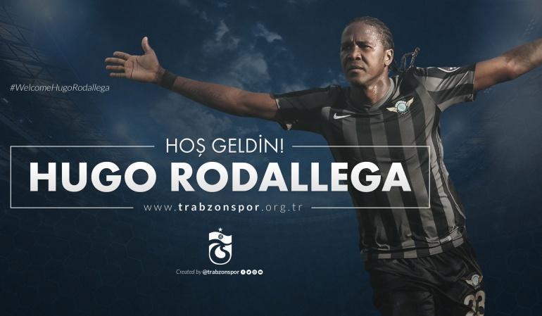 Hugo Rodallega Trabzonspor: Hugo Rodallega es nuevo jugador del Trabzonspor de Turquía