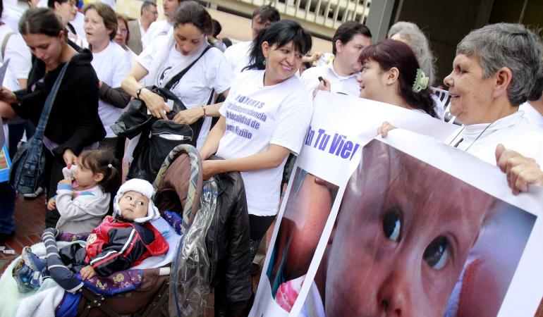 Metodos de aborto: La Corte Constitucional definirá límite para la práctica legal de los abortos