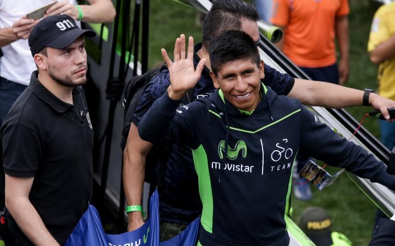 Nairo Andrey Amador Movistar Team: Es un gusto servir a Nairo para intentar ganar el Giro: Andrey Amador