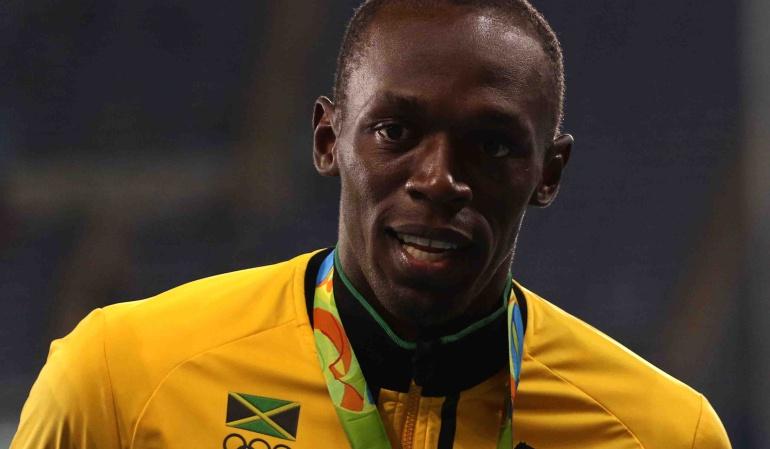 Bolt, despojado de una de sus medallas olímpicas por doping de un compañero