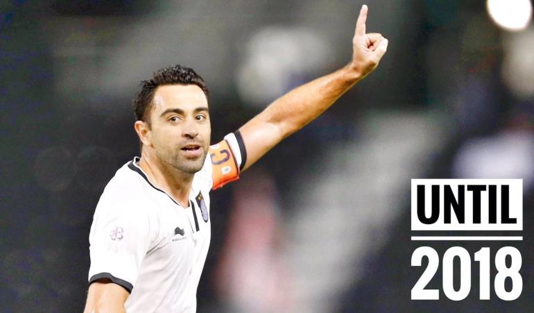 Xavi Hernández Al Sadd: Xavi renueva con el Al Sadd catarí por un año