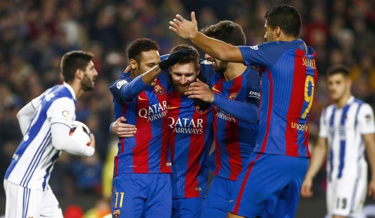 Barça estará por séptima vez consecutiva en una semifinal copera