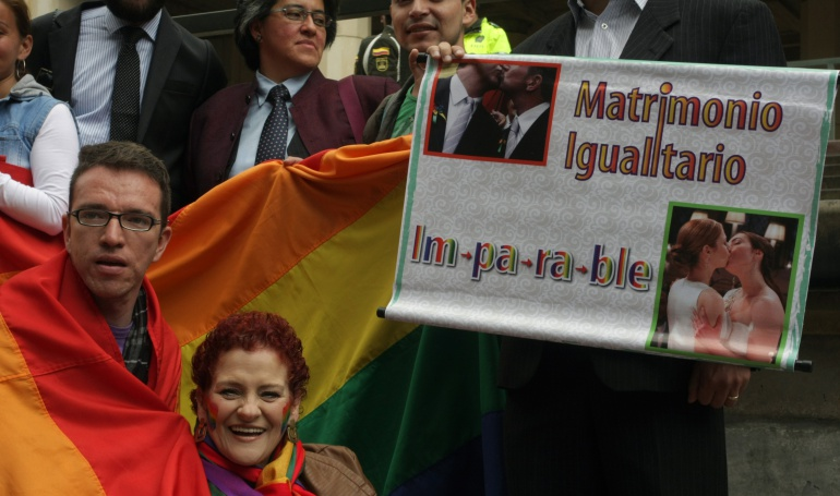 En firme matrimonio igualitario