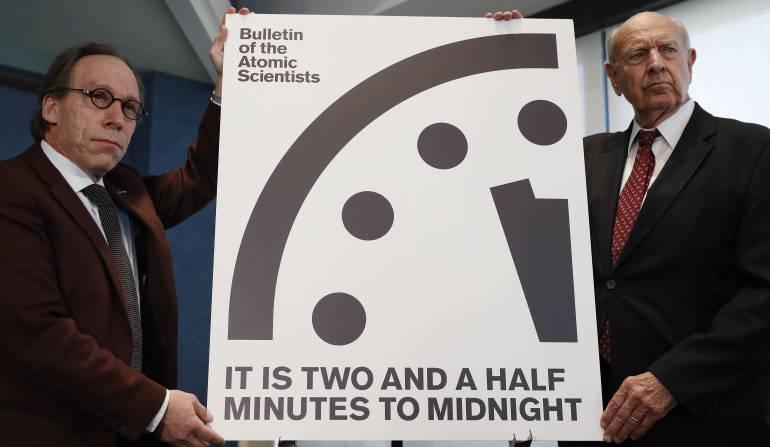 Reloj del Fin del Mundo: El Reloj del Fin del Mundo se adelanta 30 segundos