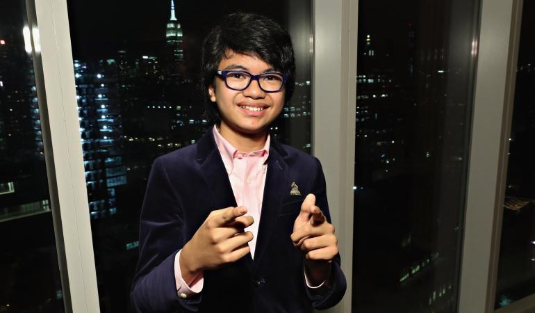 Joven de 13 años nominado a los Grammy: Pianista de 13 años consigue nueva nominación a los Grammy