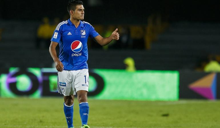 Millonarios Macalister Silva: Macalister Silva sufre lesión de ligamento colateral