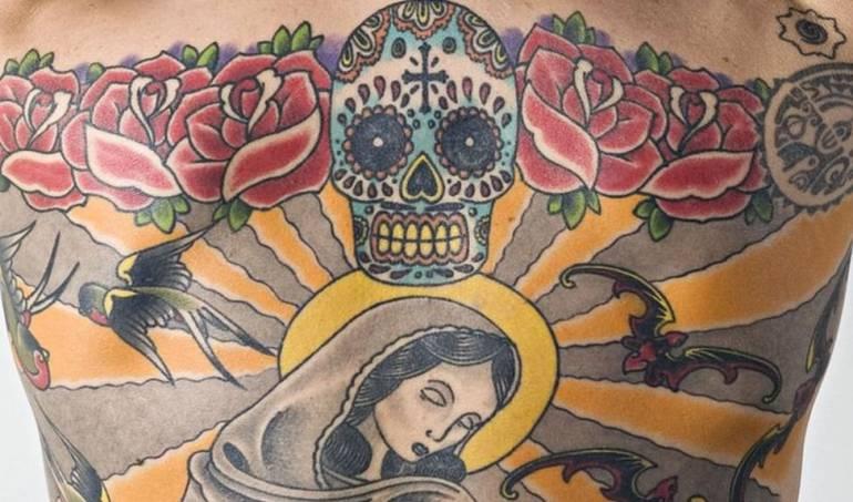 Tatuaje,coleccionista de arte: El hombre que le vendió su espalda a un coleccionista de arte por US$160.000