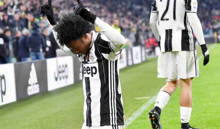 Cuadrado gol Juventus: Cuadrado le entrega la victoria a la Juventus con un golazo ante el Inter