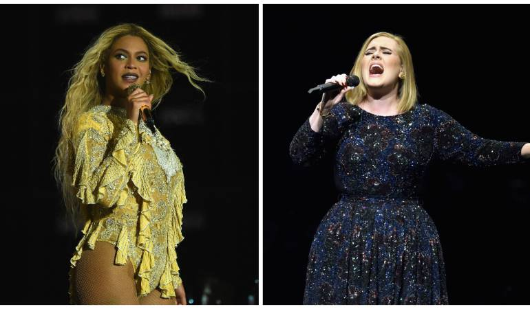 Beyoncé o Adele nominadas en los Grammy: ¿Beyoncé o Adele? quién ganará en los Grammy