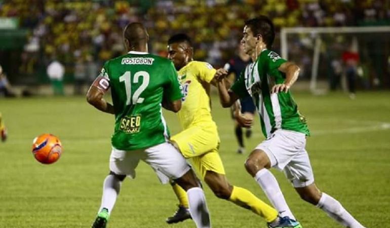 Atlético Nacional Alendro Bernal: Alejandro Bernal entrega primer triunfo a Nacional en la Liga