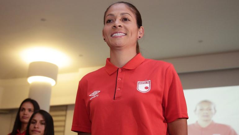 Equipo Femenino de Santa Fe: Carol Sánchez, refuerzo para Santa Fe en la Liga Femenina colombiana de fútbol