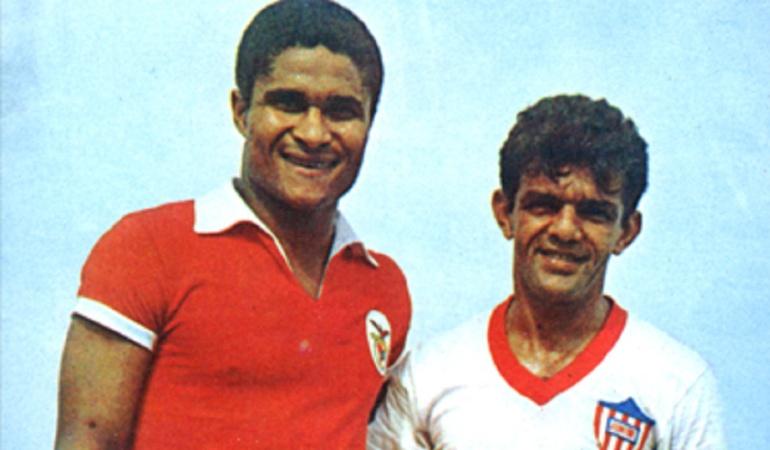 Junior de 1967: Eusebio y Dida