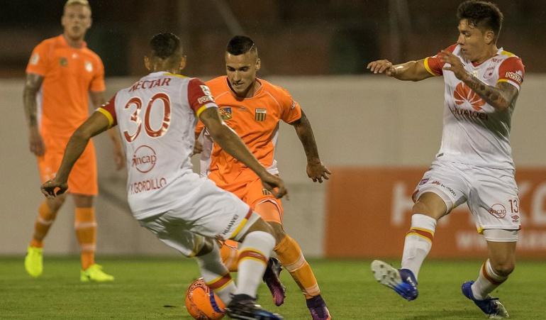 Envigado 0-1 Santa Fe Liga Águila: El campeón se estrenó en la Liga con victoria 1-0 ante Envigado