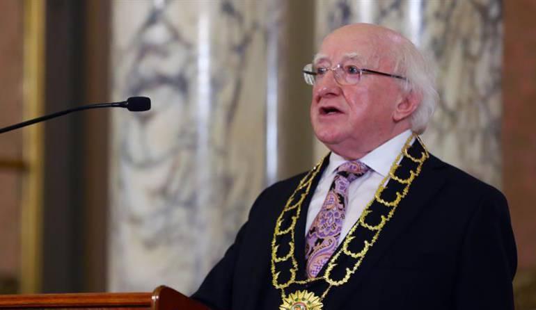 [VIDEO] Presidente de Irlanda conoció programa de resocialización de guerrilleros en Anorí