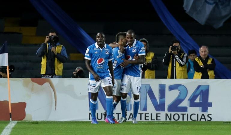 Millonarios Bucaramanga: Millonarios golea y suma sus primeros tres puntos en la Liga