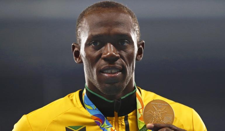 Usain Bolt Premio Laureus Mejor Deportista del Año: Usain Bolt, ganador del Premio Laureus al Mejor Deportista del Año