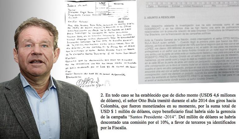 Sobornos Odebrecht: Otto Bula niega haber mencionado dinero de Odebrecht a la campaña de Santos