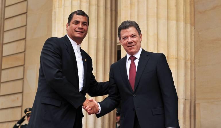 Presidentes de Ecuador y Colombia se reúnen en Gabinete Binacional