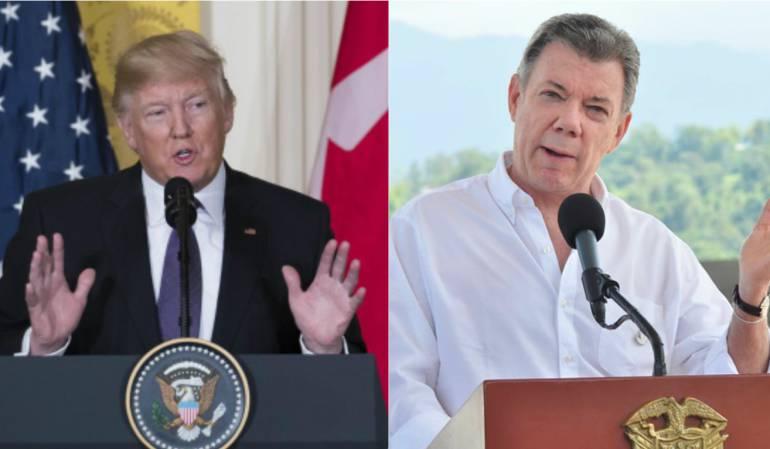 Relaciones entre EE.UU. y Colombia en la era Trump: Venezuela, Trump y la llamada a Santos