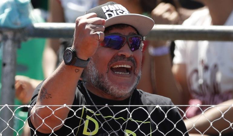Diego Maradona Madrid Nápoles: No hay ninguna denuncia: Diego Armando Maradona
