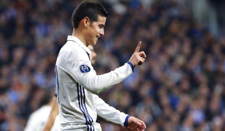 Napoli Real Madrid: James regresó a la Champions con triunfo 3-1 del Real Madrid sobre el Napoli
