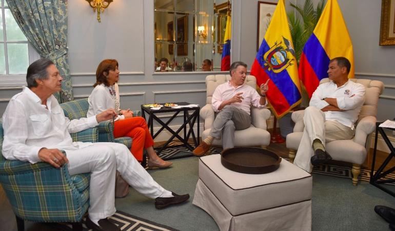 Acuerdos con Ecuador: Colombia y Ecuador logran acuerdos contra la corrupción y el lavado de activos