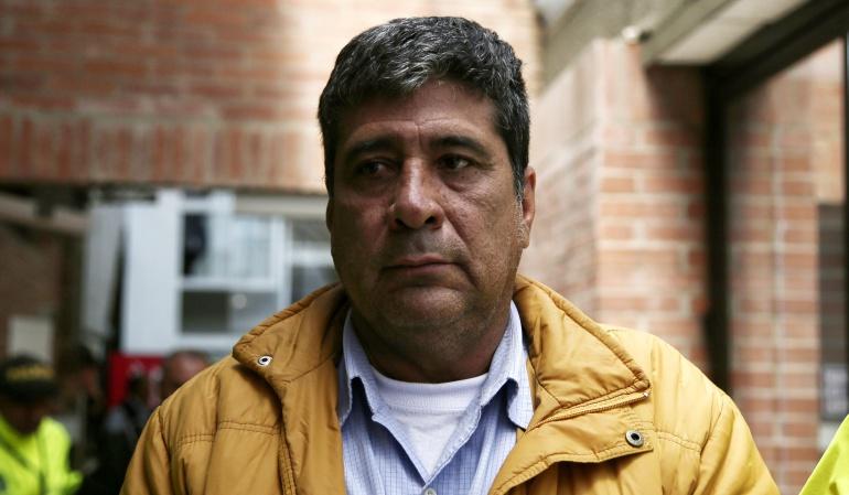 Pedro Aguila, dirigente camionero vinculado con el cartel de la chatarización.